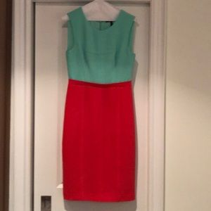 BCBG dress - size 6 - colourblock